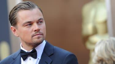Leonardo DiCaprio, le 2 mars 2014, lors de la cérémonie des Oscars.