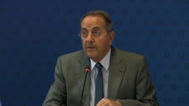 Michel Delpuech, le préfet de police de Paris.