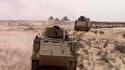 Un tank de l'armée égyptienne dans le Sinaï en décembre 2020