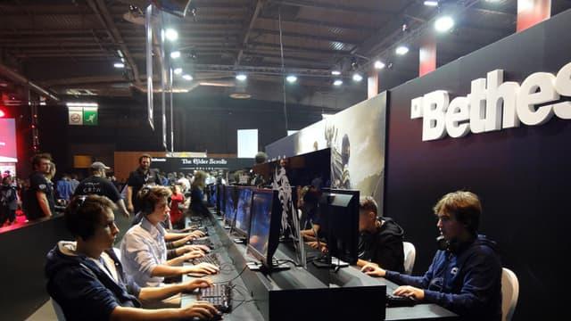 Gamers à la Paris Games Week. (Illustration)