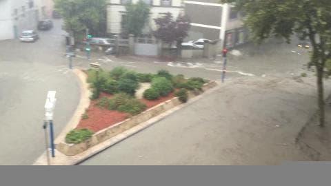 Les rues de Montpellier sont inondées - Témoins BFMTV