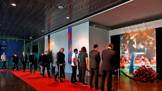 Le Barça rend hommage à Tito Vilanova au Camp Nou