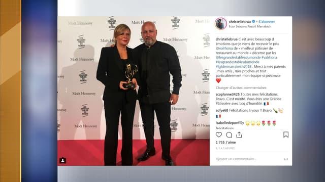 Christelle Brua est la cheffe du Pré Catelan à Paris, restaurant triplement étoilé.