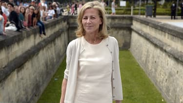 Claire Chazal à Paris en juillet 2013
