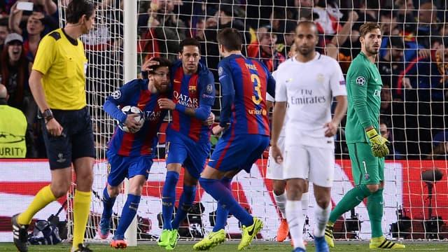 Messi, Neymar et Piqué contre la détresse parisienne