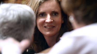 Nathalie Kosciusko-Morizet, soutien de Nicolas Sarkozy dans la course à présidence de l'UMP