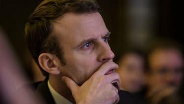 Emmanuel Macron, le 30 janvier 2018