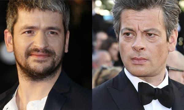 Les chanteurs Grégoire et Benjamin Biolay