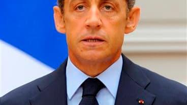 """Nicolas Sarkozy avait confié à des responsables américains en 2006, avant son élection à l'Elysée, qu'il pourrait """"peut-être"""" envoyer des soldats français en Irak dans le cadre d'une force internationale, selon un télégramme diplomatique diffusé par WikiL"""