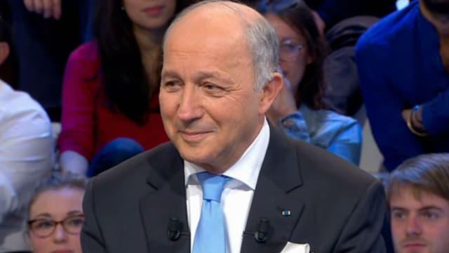 Laurent Fabius était l'invité du Supplément de Canal+ dimanche.