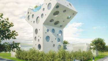 Cette maison sera construite à Taiwan.