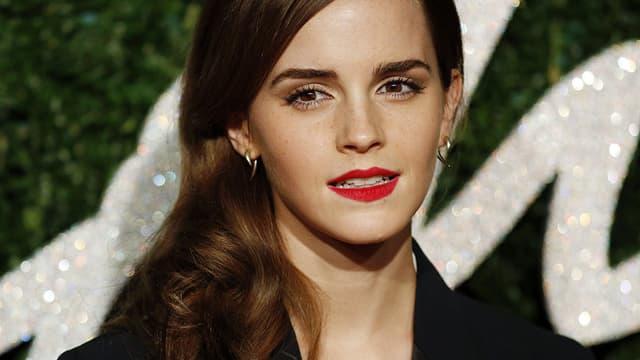 Emma Watson, en décembre 2014 à Londres.