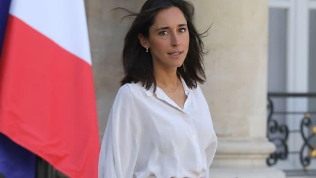 Brune Poirson, le 11 septembre 2019 à Paris