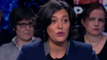 La ministre du Travail Myriam El Khomri sur BFMTV, dimanche 31 janvier 2016.