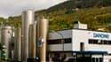 Danone va fermer trois usines en Europe. Ici, un site en Espagne.