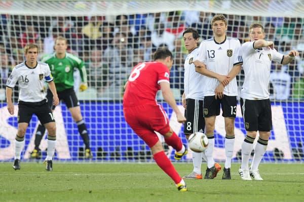 La frappe de Lampard en 2010