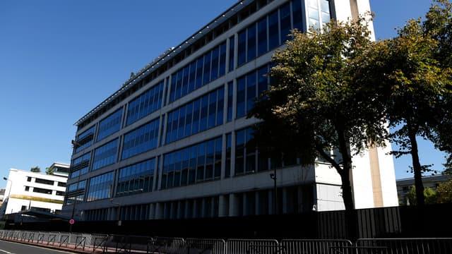Le siège de la DGSI à Levallois-Perret.