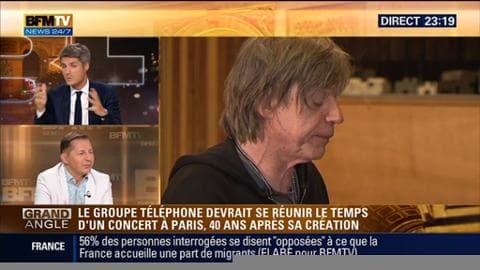 Le groupe Téléphone devrait se reformer pour un concert le 11 septembre à Paris