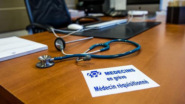 Depuis décembre, les médecins ont engagé un mouvement de grève contre le projet de loi de santé.