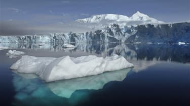 Fonte des glaces, dans l'Antarctique. (photo d'illustration)