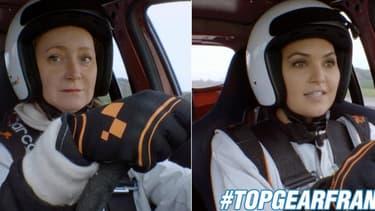 Julie Ferrier et Valérie Bègue étaient les deux invitées de cette semaine, dans Top Gear France.