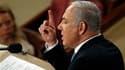 Le Premier ministre israélien Benjamin Netanyahu a réaffirmé mardi pour l'essentiel la position traditionnelle d'Israël, dans un discours devant le Congrès américain, tout en se disant prêt à l'abandon de terres bibliques aux yeux des juifs pour obtenir l