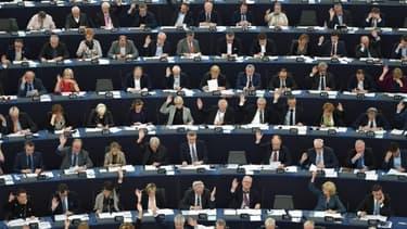 Image d'illustration du parlement européen lors de la 8ème législature (2014-219)
