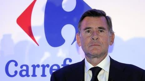 Georges Plassat a remplacé Lars Olofsson à la tête de Carrefour.