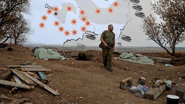 Cela fait plusieurs mois qu'une guerre de positions se tient aux portes de la Russie.  Comment les combats ont-ils évolué sur le terrain ?