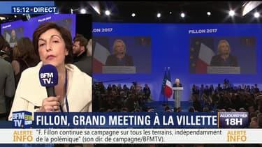 Meeting de François Fillon au Zénith: Le couple ovationné à leur arrivée (1/3)