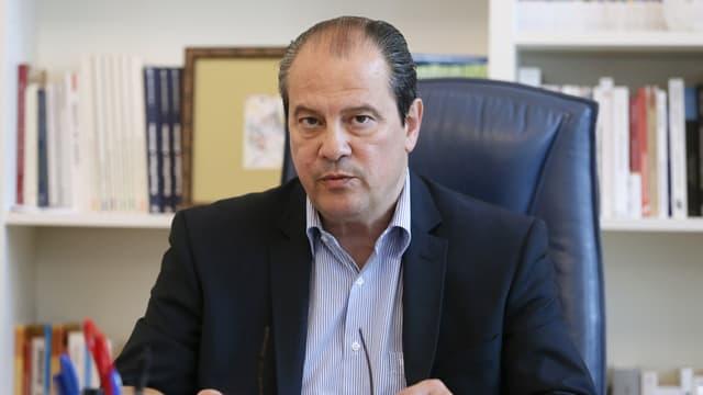 """Le Premier secrétaire du PS n'a pas apprécié la visite d'un député de son parti à celui qu'il qualifie de """"boucher""""."""