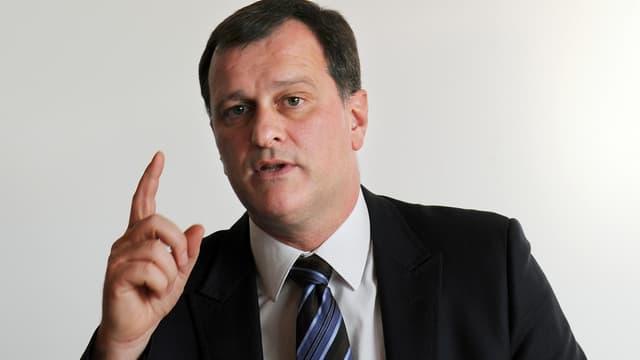Le vice-président du Front national, Louis Aliot, en février 2014.