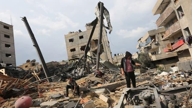 La bande de Gaza, le 14 novembre.