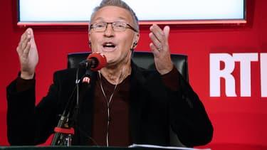 Laurent Ruquier, en septembre 2014, à la conférence de rentrée de RTL.