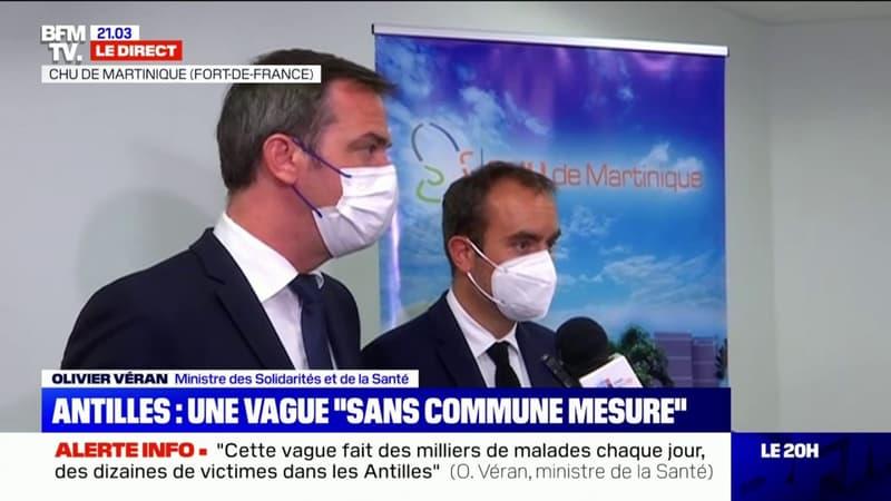 """Olivier Véran dénonce des """"pancartes extrêmement bariolées et des motifs parfois extrêmement douteux, voire complètement crades"""""""