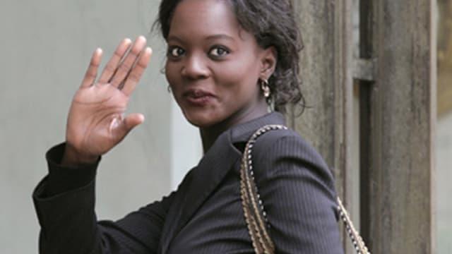 Rama Yade, secrétaire d'Etat aux Sports