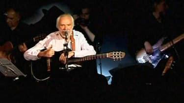Le chanteur et compositeur Georges Moustaki