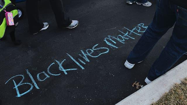 Le 19 janvier 2015, une marche en hommage du jeune Noir tué à Ferguson dans le Missouri, par des policiers.