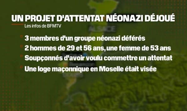 Un projet d'attentat néonazi a été déjoué en Alsace