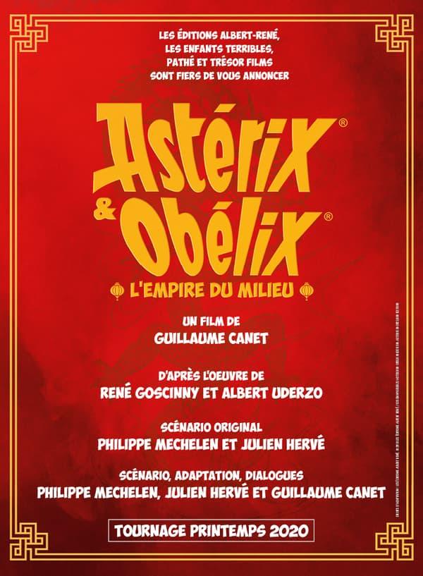Le prochain Astérix, réalisé par Guillaume Canet.
