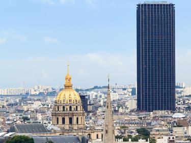 A partir de samedi il sera possible de venir faire du trampoline au sommet de la tour Montparnasse.