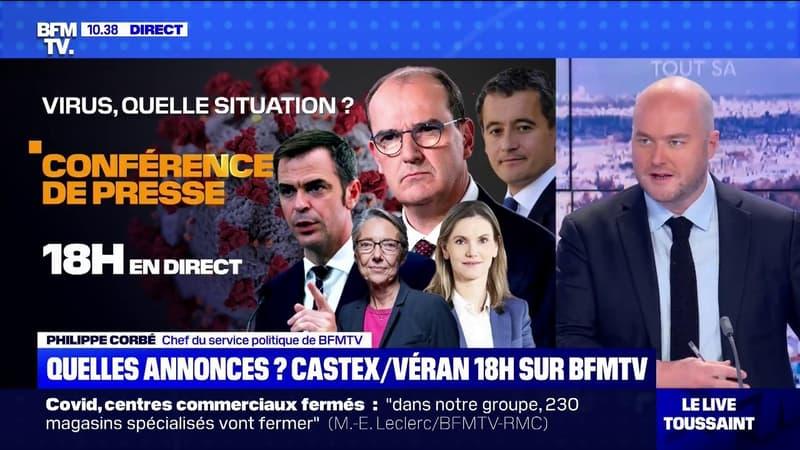 Covid-19: ce que devrait dire Jean Castex à 18h lors de sa nouvelle conférence de presse