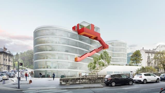 Projet du parking Ravet à Chambéry