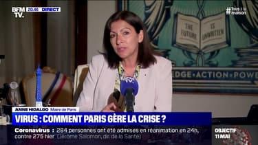 """Coronavirus: """"Évidemment"""" que les masques devraient être obligatoires dans les transports parisiens, déclare Anne Hidalgo"""