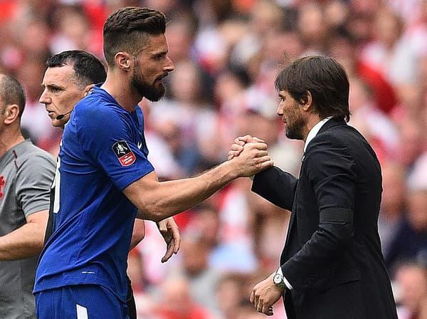 Giroud et Conte, époque Chelsea
