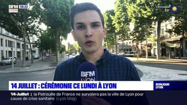 14-juillet: une cérémonie en comité réduit ce lundi après-midi à Lyon