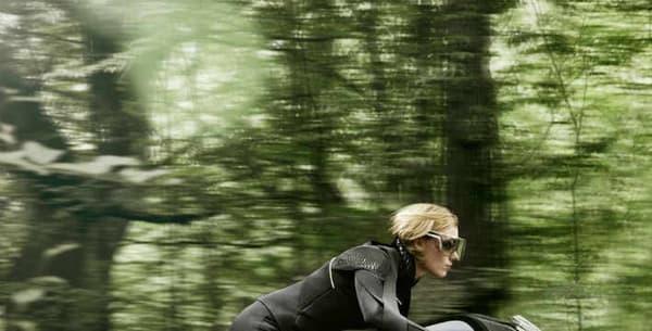 """""""Nous ne prévoyons pas d'autonomie pour nos motos"""", précise Edgar Heinrich, directeur du design chez Motorrad, division de motos de BMW."""