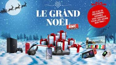 """Le """"Grand jeu de Noël RMC"""" est arrivé"""