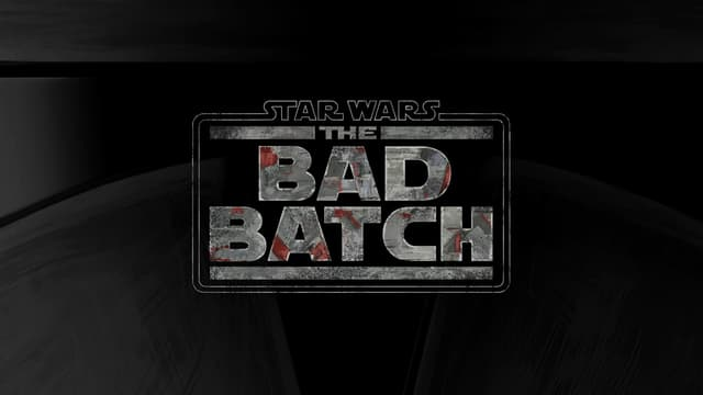 """Logo de la série animée """"The Bad Batch"""", située dans l'univers """"Star Wars"""""""