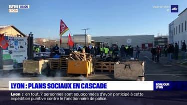 Lyon: les plans sociaux se multiplient dans la métropole